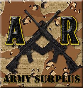 AR ARMY SURPLUS SUPPLIES